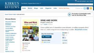 Kirkus Review of Wine and Work