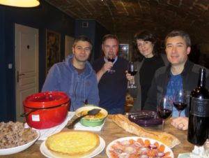 Feasting With Winemakers – Salmon, Chicken, Lemon Tart