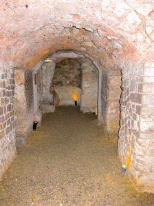 Ancient underground Roman cellar in Narbonne, near the Mediterranean