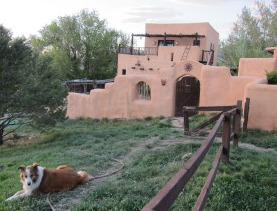 New Mexico Adobe Scene New