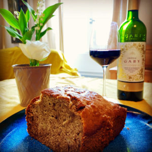 Lockdown Banana Bread & Fronsac Wine